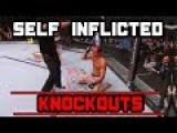 MMA Fighters Knocking Themselves Out By Accident