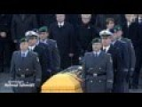 Merkel Pays Respect To Fallen Soldiers