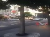 Meanwhile In New Zealand... A High Speed Trolley Chase!!!!