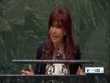 Mainstream Media Gives Short Shrift To Argentine President UN Speech