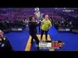Man Tries To Steal Trophy During The World Darts Championship