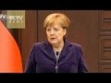 Merkel Deeply Concerned About Refugees' Suffering And Misery In Syria