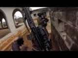 Marines GoPro Helmet Cam Footage Of US Marines In Action During Urban Combat Firefight Training