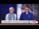 Morning Joe Panel Slams Clinton, Sanders Brings Passion Clinton Lacks