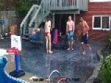 Moron & A Pool Jump FAIL