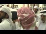 Mourners Join The Emir Of Dubai At Funeral Of Sheikh Rashid