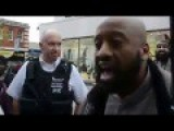 Muslim Preacher Gives A Lecture To The British Police