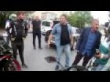 Motorcycle Riders Discussion Against Cops Erdogan's Nephew