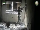 Mujahideen With RPG-7 Hitting ASS-AD's Fortification