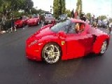 Million Dollar Ferrari Enzo Arrives At Cars And Coffee