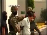 Moments Of El Chapo Guzman Shown To Media After Capture