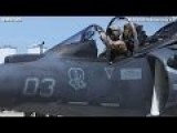 MARINE ATTACK SQUADRON AV-8B Harrier II Jump Jet Amazing Takeoff And Landing - CODE 1079
