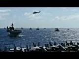 Massive Military Warship & Submarine Fleet Formation During World Largest Maritime Exercise RIMPAC