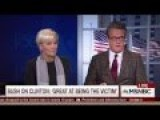 MSNBC Panel Warns : Hillary Clinton Be Careful With Donald Trump