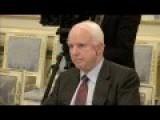 McCain In Ukraine: Poroshenko Meets US Senator, Thanks US For Support