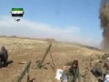 Mortar Battalion Targeted By Syrian Air Force