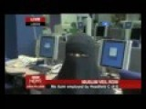 Muslim Woman Attends Interview Without Burka And Then Turns Up For Job In Full Burka. Advantage Taker
