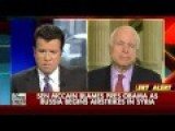McCain: Arm Syrian Rebels To Shoot Down Russian Planes