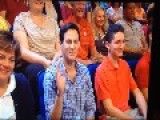 Most Awkward Audience Member Ever