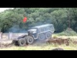 Military Vehicles In The Swamp: Tanks, Trucks And Mobile Artillery