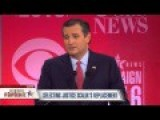 Moderator Booed After Correcting Ted Cruz On Supreme Court History