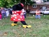 Minnie Mouse Twerking On Labor Day!