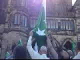 Muslims Raise Pakistani Flag At Rochdale Town Hall
