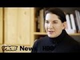 Marina Abramovic's Silent Birthday Celebration: VICE News Tonight On HBO