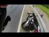 Motorcycle Crash Compilation & Road Rage 2015 HD