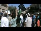 More Protests By Syrian People Of Homs Against American Gulf Air-strikes In Syria And In Support Of The Islamic State