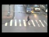 Man Almost Gets Hit By Bus Accident