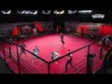 MMA Cage Fight: USA, NYC Vs Russia, St. Petersburg
