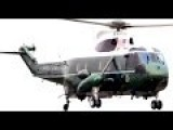 Marine One Flyoff Sikorsky SH-3 Sea King - The Inauguration Video - US President Helicopter 2017