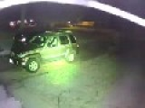 Man Trying To Break Into Vehicles Gets Confronted By Man With Silenced Pistol