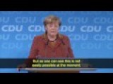 Merkel Takes Heat From Her Own Party