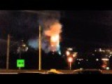 Moscow Bell Tower In Flames
