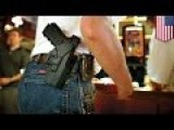 Man Robbed Of The Brand New Gun He Was Open-carrying