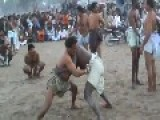 Muslims Gather To Watch Traditional & Slightly Homoerotic Wresting