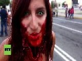 Mexico: Zombies Swarm Mexico City On Day Of The Living Dead