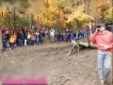 Motorcycle Crash Close Call WIN