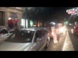 Massive Celebrations On Serbian Streets After Defeating Croatia In World Cup Finals