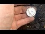 My First Silver Coin! Found Metal Detecting In Florida