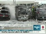 Man Hurt After Van Explodes In Winnipeg Parking Lot