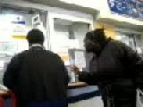 Man Gets Angry At Postal Clerk