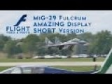 MiG-29 Fulcrum With Vertical Takeoff - Polish Air Force. Full HD, 2K, 4K!