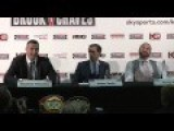 My Favourite Part From Klitschko V Fury Press Conference