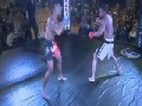 MMA Fighter Knocked Out With Flying Kick