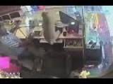 Monkey Robs Jewelry Store