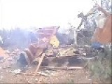 Mobile Home Trailer Demolished With 20lbs Of Tannerite
