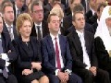 Medvedev Again Fell Asleep Listening To Putin. The Dictator's Speech Was Boring